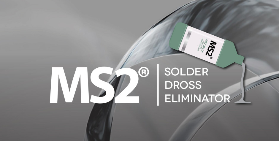 Etek Europe appointed as distributor of MS2 Dross Eliminator